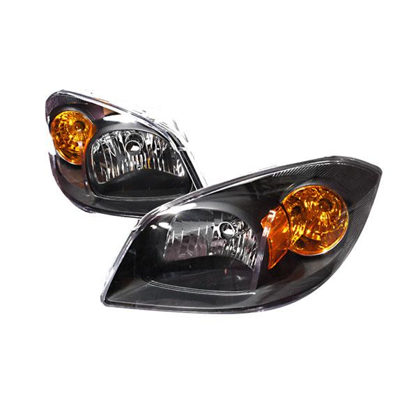 Spec-D Tuning 2LH-COB05JM-KS | Spec-D Cobalt Crystal Headlights - Black; 2005-2007