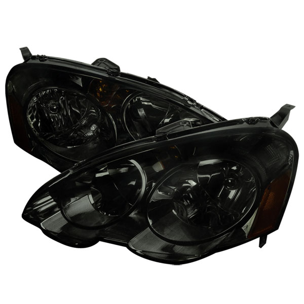 Spec-D Tuning (2LH-RSX02G-RS)  Acura Rsx 02-04 Acura Rsx Headlights Smoke, 02-04