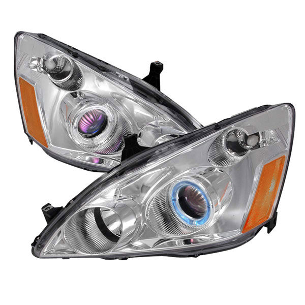 Spec-D Tuning 2LHP-ACD03-KS: Spec-D 03-05 Honda Accord Projector Headlights