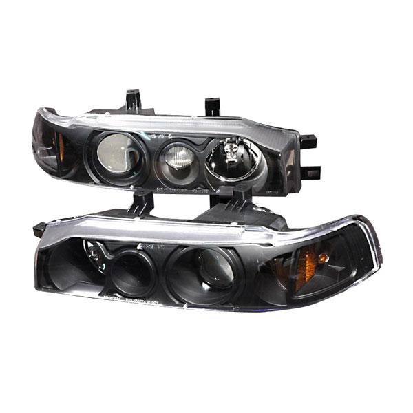 Spec-D Tuning 2LHP-ACD90JM-KS | Spec-D 90-93 Honda Accord Projector Headlights