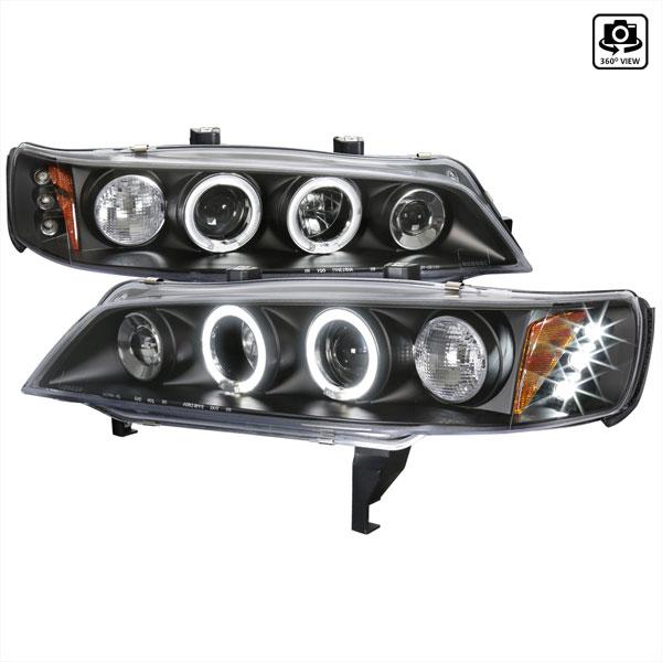 Spec-D Tuning 2LHP-ACD94JM-TM | Spec-D 94-97 Honda Accord Halo Led Projector