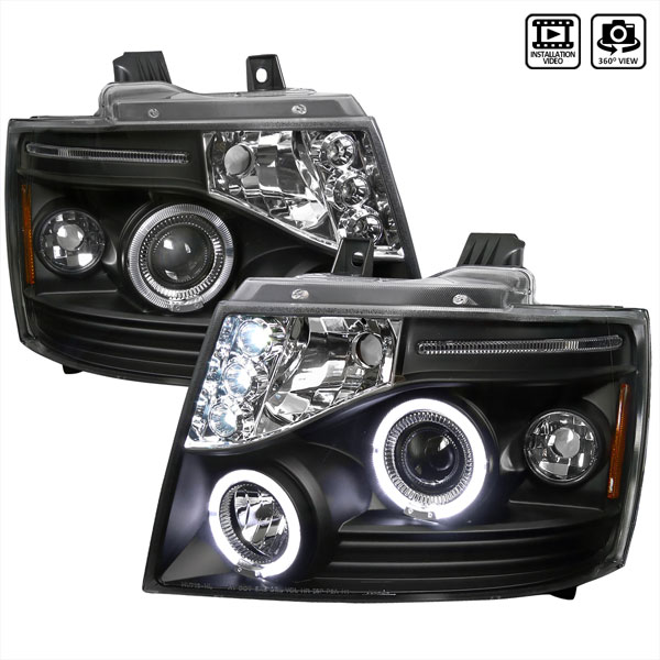 Spec-D Tuning 2LHP-AVA07JM-TM | Spec-D Avalanche Projector Headlight; 2007-2010