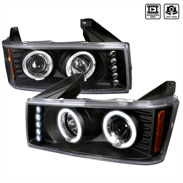 Spec-D Tuning (2LHP-COL04HJM-TM) Spec-D 04-05 Colorado / Canyon Led Halo Projector