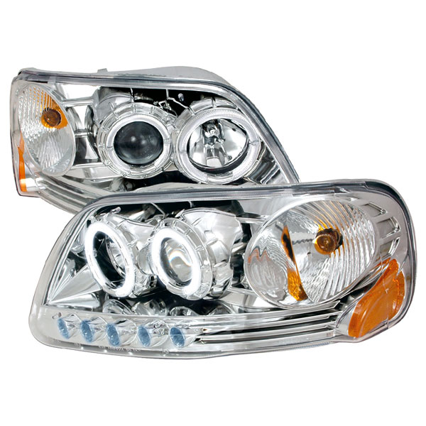 Spec-D Tuning 2LHP-F150971PC-KS | Spec-D 97-03 Ford F-150 1pc Projector Headlights