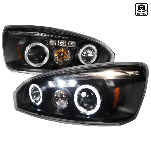 Spec-D Tuning 2LHP-MBU04JM-TM: Spec-D 04-08 Malibu Projector Headlights