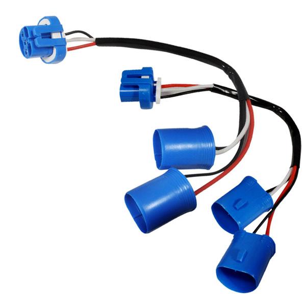 Spec-D Tuning 2LHP-RAM94WH-RS |  Dodge Ram Headlight Wire Harness; 1994-2001