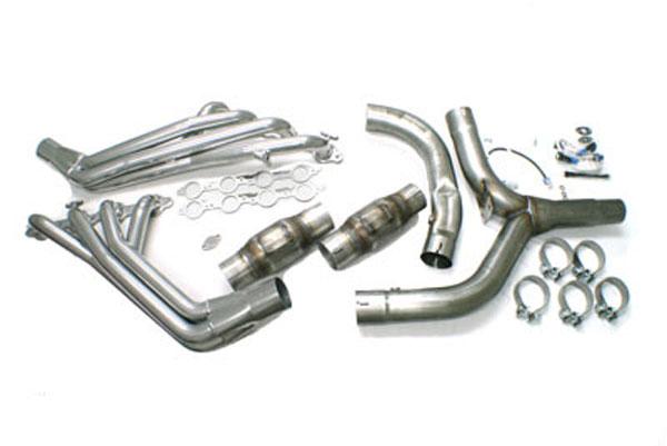 SLP Performance 30046 | SLP Header Package, 1-3/4 Long Tube Camaro w/Y-Pipe/Cats/ Install Kit V8; 1998-1999