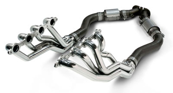 SLP Performance 30168: SLP GTO Headers Coated 1-3/4 Long-Tube w/Cats /Downpipes, 2005-06