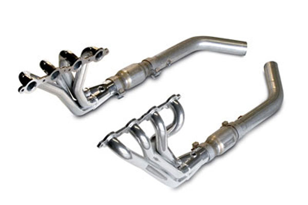 SLP 30212:  2010-14 Camaro V8 Header Package 1-3/4 Long Tube w/ Installation Kit High-Flow Cats use w/#30220 #30223