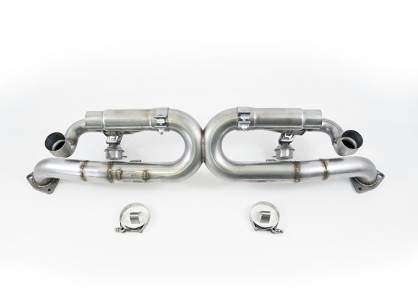 AWE Tuning (3025-42012)  991 Carrera SwitchPath Exhaust (non-PSE equipped Carreras) (Chrome Silver Tips)