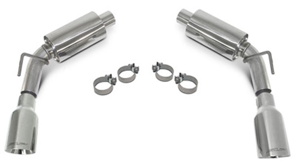SLP Performance 31212: SLP Loudmouth II Exhaust Camaro V8 2010-15 Axle-Back System w/4 inch Tips