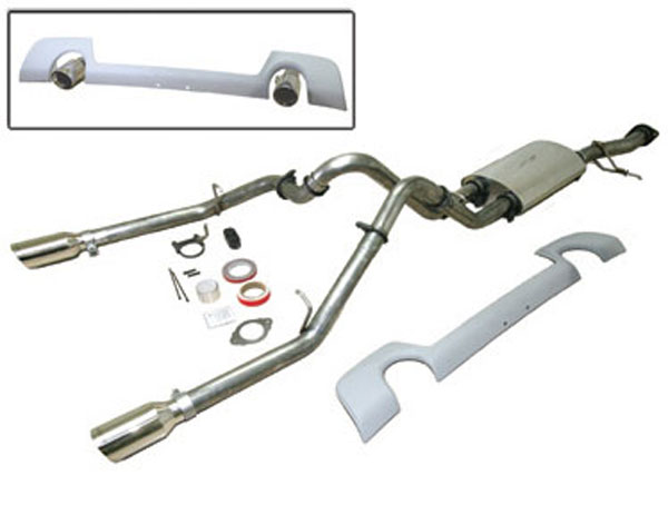 SLP 31675:  Powerflo 2006-09 Trailblazer SS Dual Outlet Exhaust System