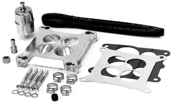 Edelbrock 2697 | Carb to Q-Jet Adapter Kit