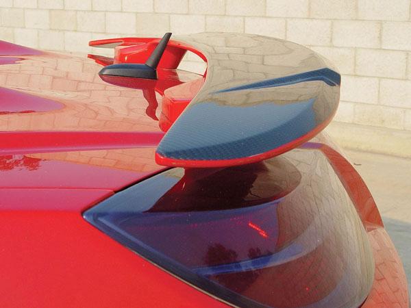 RKSport 32012020    Saturn Sky Rear Spoiler - Carbon Fiber Top