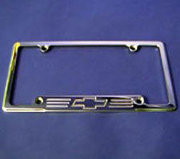 Empire 320BP:  67-up /GMC Full-size Trucks/SUVs License Frame with Bowtie