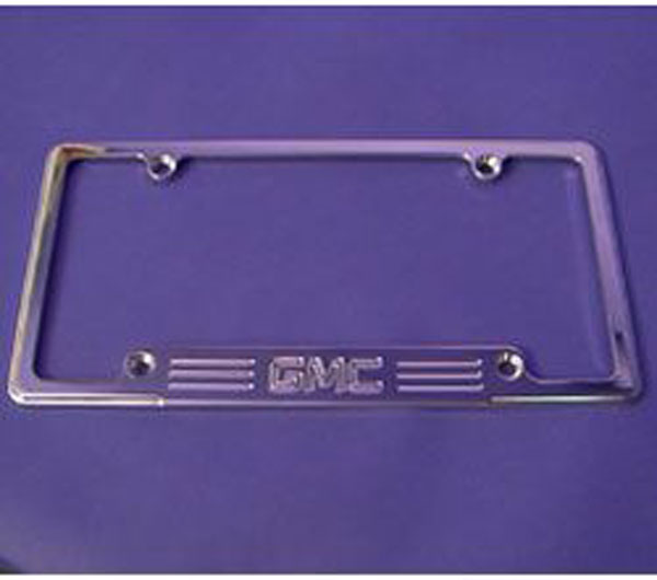 Empire 320GP:  67-up /GMC Full-size Trucks/SUVs License Frame with GMC