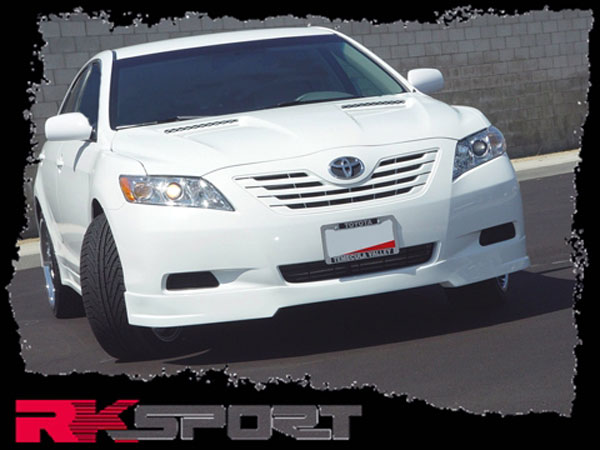 RKSport 33011001 | Camry Front Valance; 2007-2009