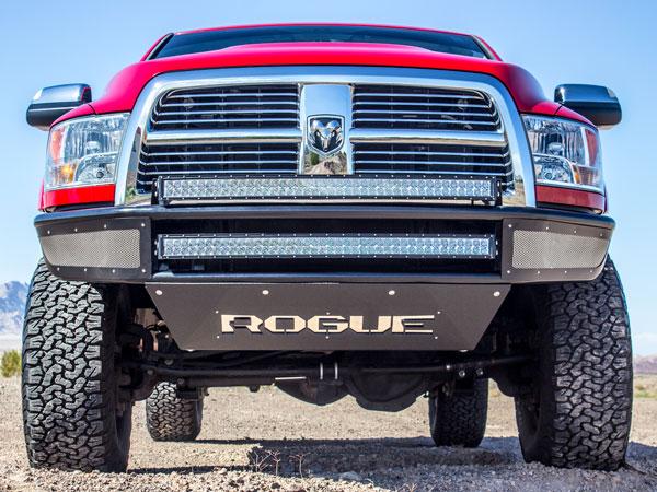 Rogue Racing 332510-91-01-MS |  Dodge Ram 2500/3500 Rebel Front Bumper - MESH SKINS; 2010-2016