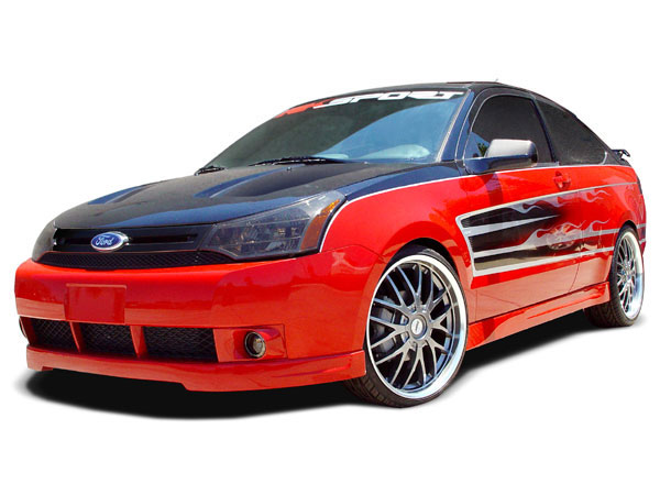 RKSport 34012000 | Ford Focus Ground Effects Package; 2008-2008