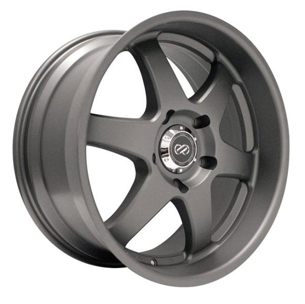 Enkei 470-780-7310gm | ST6 17x8 10mm Offset 5x127 Bolt Pattern 71.6 Bore Dia Gunmetal Machined Wheel