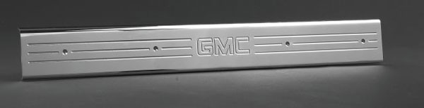 Empire 357XGP:  07-up /GMC Full-size Trucks/SUVs Extended Cab Front Door Sill Plates with GMC logo