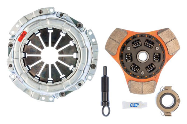 Exedy Racing (16950) Exedy Stage 2 Cerametallic Clutch Kit GEO PRIZM L4 1.6 1990-1997; Thick Disc