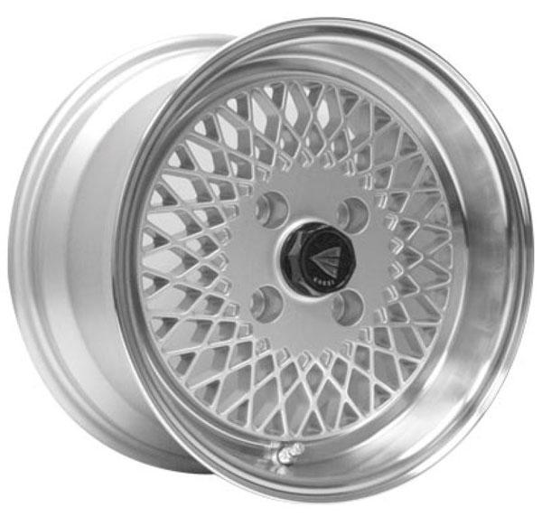 Enkei 465-580-4925sp   92 Classic Line 15x8 25mm Offset 4x100 Bolt Pattern Silver Wheel