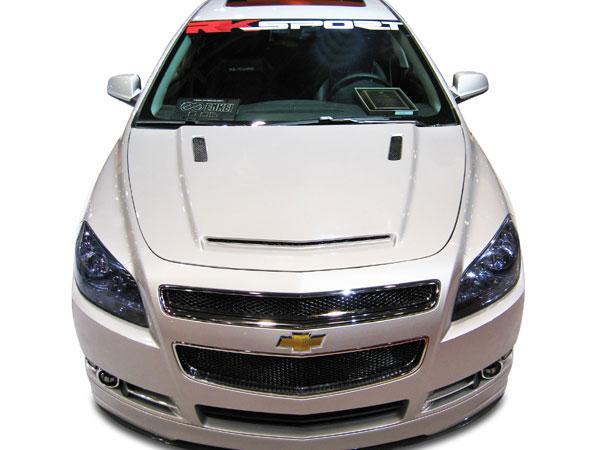 RKSport 37011000 |  Malibu Functional Ram Air Hood; 2008-2012