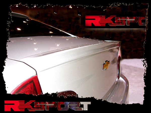 RKSport 37012015 |  Malibu Carbon Fiber Rear Spoiler; 2008-2012