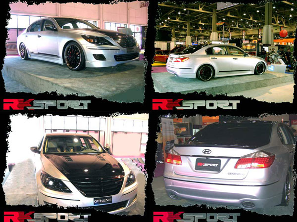 RKSport 38013020:  09-Up Hyundai Genesis Alpha Body Styling Package