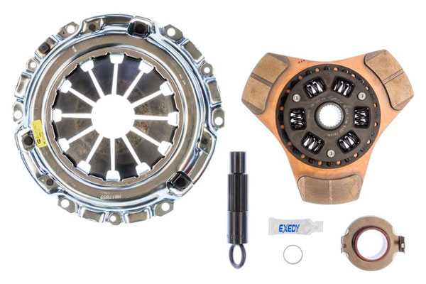 Exedy Racing 08951 | Exedy Stage 2 Cerametallic Clutch Kit HONDA CIVIC L4 2 2006-2011; 6Spd Trans.; Thick Disc