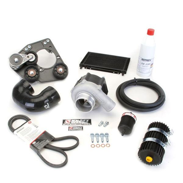 KraftWerks 150-05-0030db | Honda D-Series Race Supercharger Kit (C30-94) Black Series