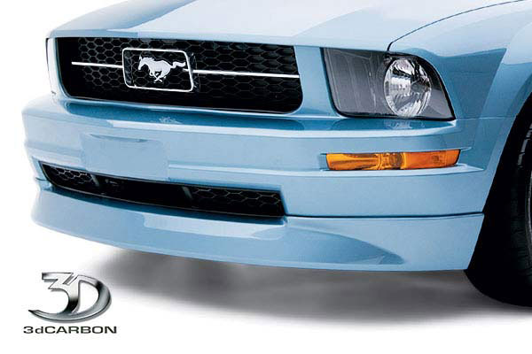3dCarbon 691032:  Mustang V6 Front Air Dam 2005-2009