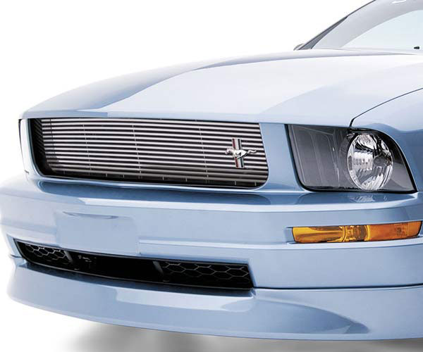 3dCarbon 691047:  -Running Pony- Chrome Grille V6 2005-2009