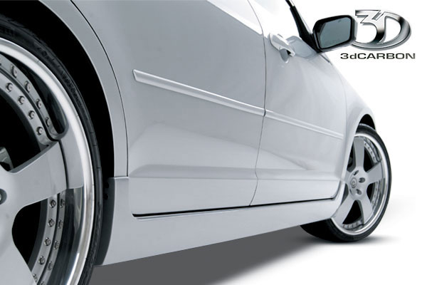 3dCarbon 691202:  Ford Fusion Euro Series Right Side Skirt