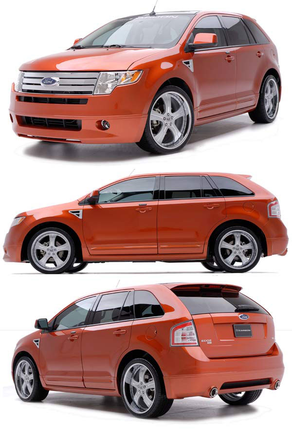 3dCarbon 691509:  2007-10 Ford Edge CA Crossover 8 Piece Styling Kit