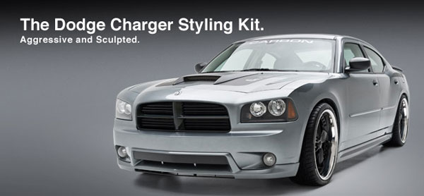 3dCarbon 691559:  Dodge Charger Body Kit 4 Piece
