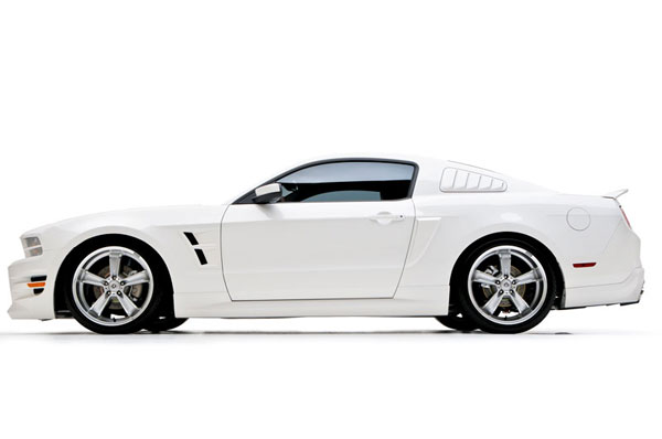 3dCarbon 691615:  Mustang Boy Racer 5 Piece Body Kit 2010-11 Mustang V6