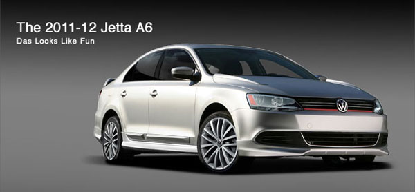 3dCarbon 691925:  Volkswagen Jetta A6 Style Kits 4 Pc. Kit