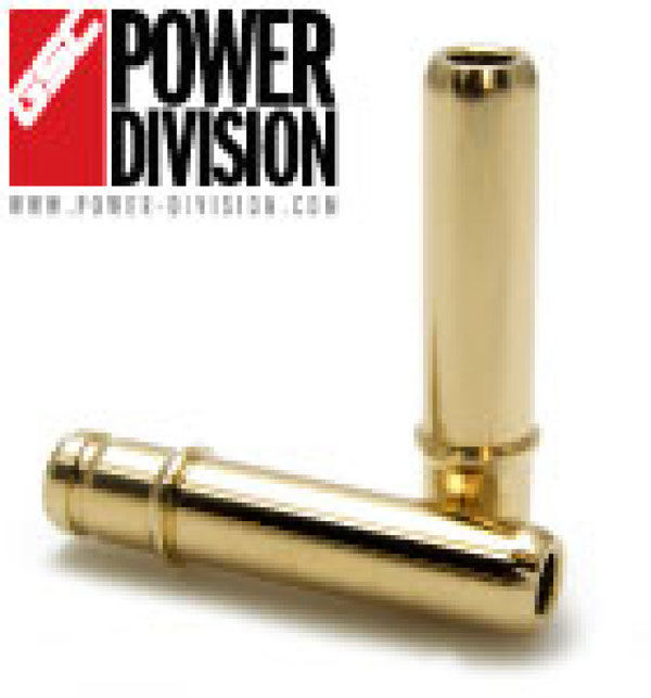 GSC Power Division 3019-8 | GSC P-D Subaru SOHC EJ25 Intake/Exhaust Manganese Bronze Valve Guide Stopper Style - SET OF 8