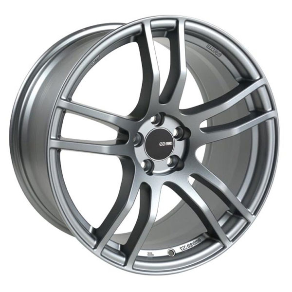 Enkei 491-790-8045gr | TX5 17x9 5x100 45mm Offset 72.6mm Bore Platinum Grey