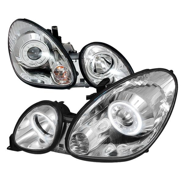 Spec-D Tuning 3LHP-GS30098-KS | Spec-D Lexus Gs300 Projector Headlights; 1998-2005
