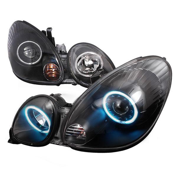 Spec-D Tuning 3LHP-GS30098JM-KS   Spec-D Lexus Gs300 Projector Headlights; 1998-2005