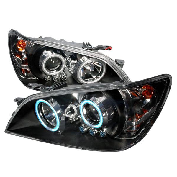 Spec-D Tuning 3LHP-IS30001JM-KS | Spec-D Lexus Is300 Projector Headlights; 2001-2005