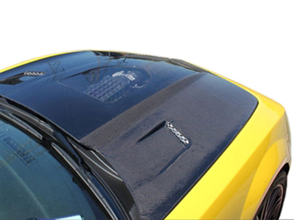 RKSport 40011120 |  Camaro Carbon Fiber Hood w/ Clear Center; 2010-2013