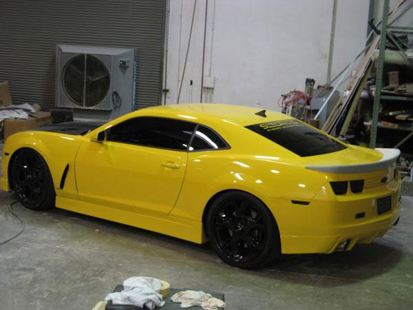 RKSport 40012010 |  2010-13 Camaro 3 Piece Trunk Spoiler - Urethane