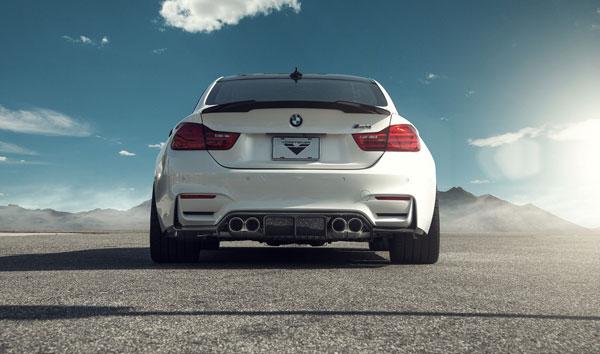 Vorsteiner 4001BMV | BMW F82 M4 VRS GTS Aero Rear Diffuser Carbon Fiber PP 1x1 Glossy; 2014-2017