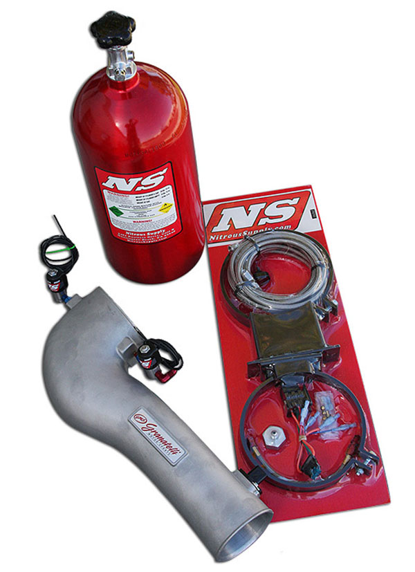 Granatelli (410040-NOS)  2005-2009 Mustang GT Nitrous Cold Air Induction System