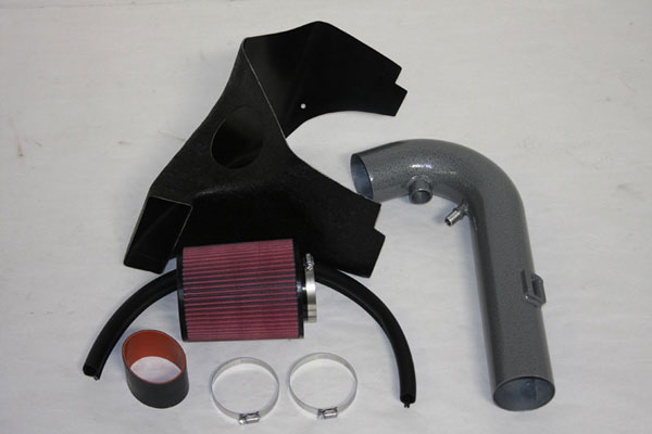 Granatelli 410046:  2011 - 2013 Ford Mustang 5.0L Coyote Cold Air Intake (Hammertone Finish)