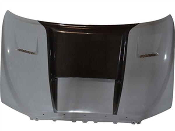 RKSport 43011010 | Tundra Ram Air Hood with Carbon Fiber Blister; 2007-2013